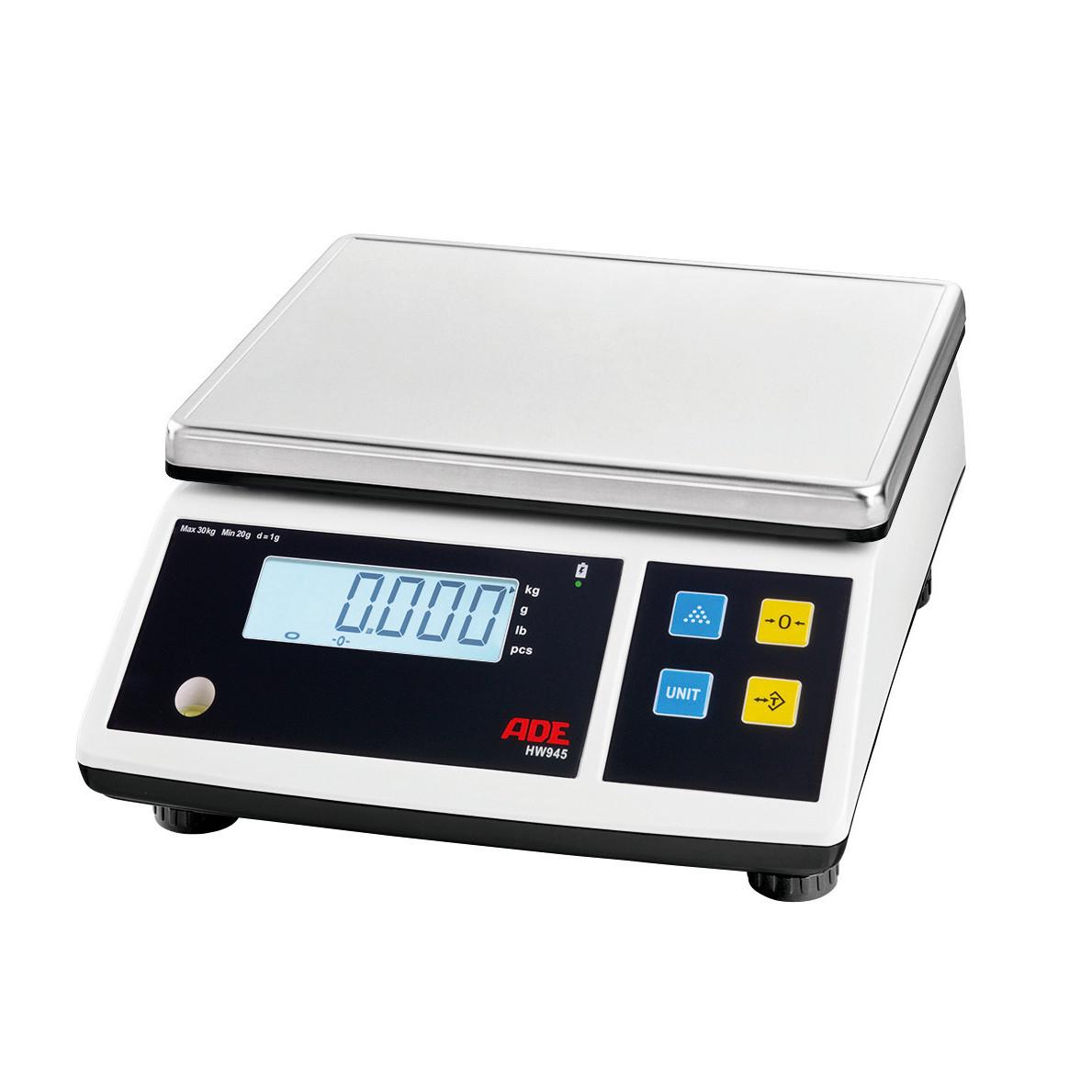 Portionswaage 30,00 kg / Ziffernschritt 1 g / Wiegelfläche 260 x 215 mm