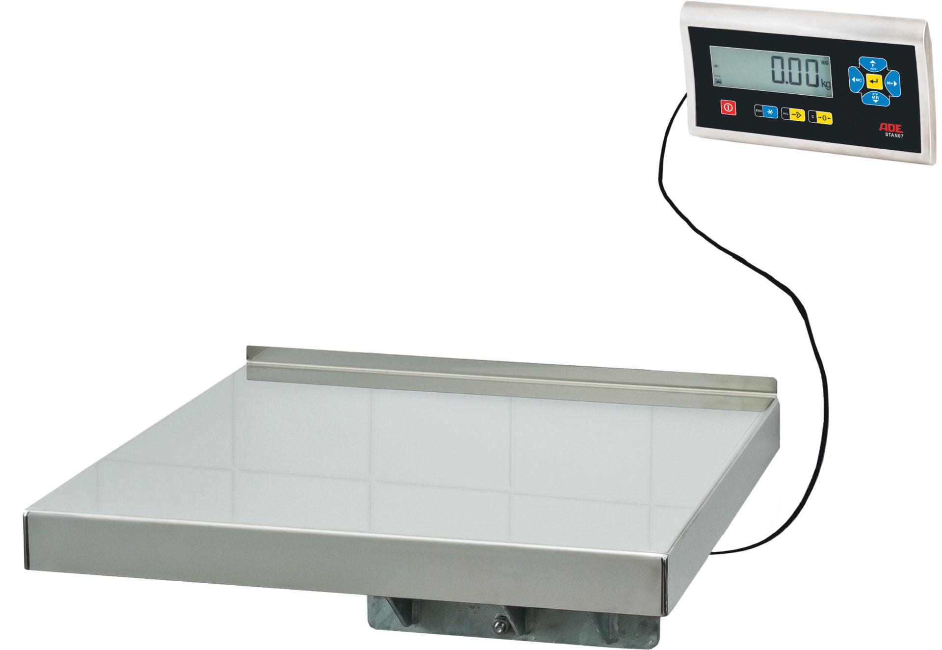 Wandwaage 150,00 kg / Ziffernschritt 50 g / ohne Eichung