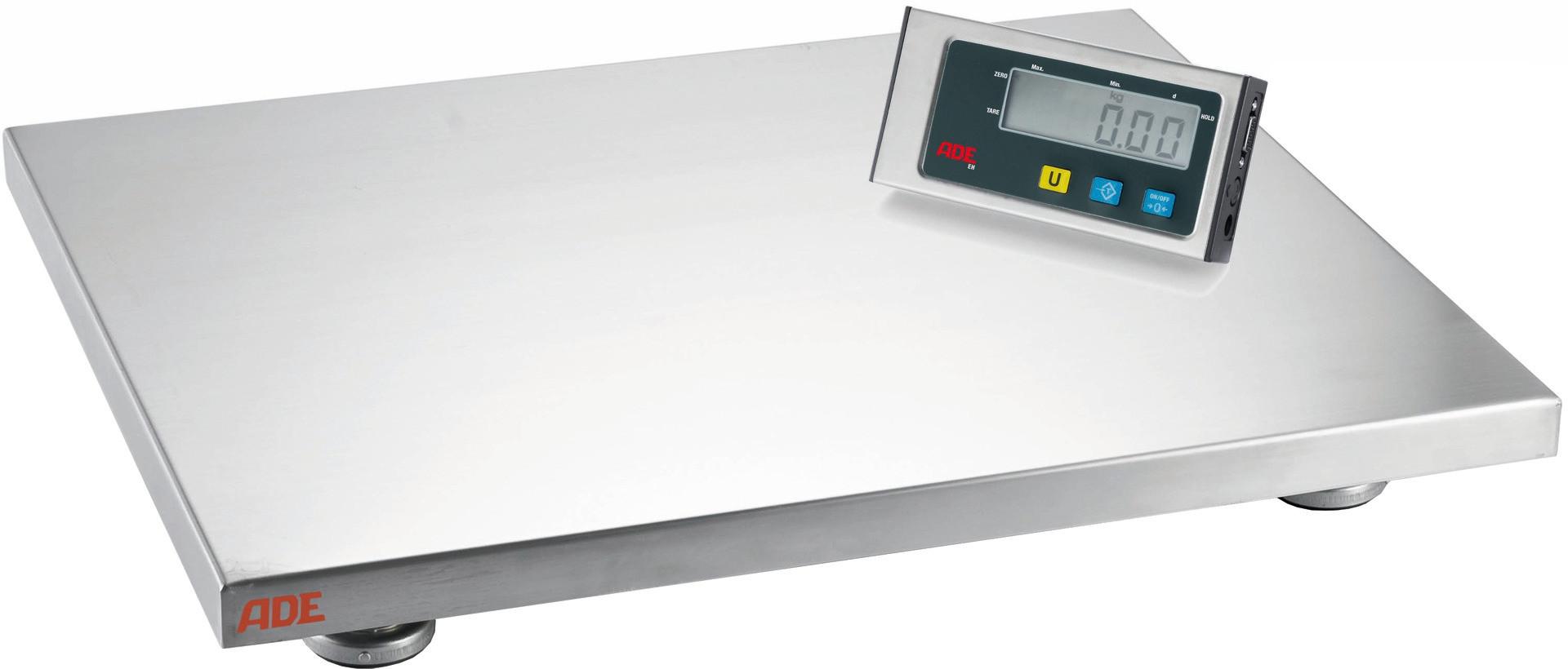 Plattformwaage 300,00 kg / Ziffernschritt 100 g / Wiegefläche 500 x 400 mm