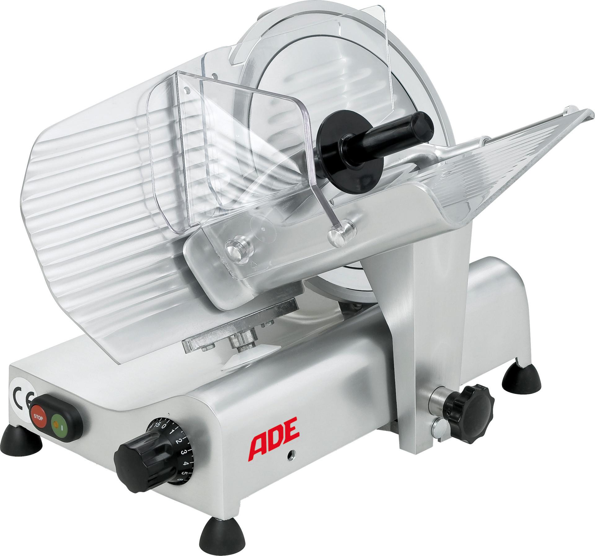 Aufschnittmaschine ø 300 mm / 400 V / Schrägschneider / Bereich 235 x 220 mm