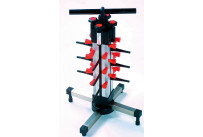 Tellerstapler Tischmodell / 12 Teller / 480 x 480 x 490 mm