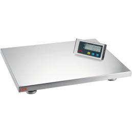 Plattformwaage 150,00 kg / Ziffernschritt 50 g / Wiegefläche 500 x 400 mm