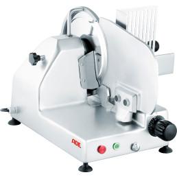 Aufschnittmaschine 250 mm / 230 V / Senkrechtschneider / Beriech 230 x 195 mm