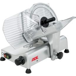 Aufschnittmaschine ø 250 mm / 230 V / Schrägschneider / Bereich 210 x 185 mm
