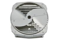 Würfelschneider komplett 22 x 22 x 10 mm / für Cutty G 5.1