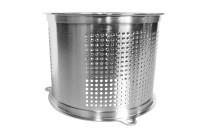 Reibezylinder 3 mm Edelstahl / für M 30
