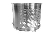 Kartoffelreibezylinder kronenverzahnt 2 mm Edelstahl / für M 30