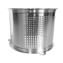 Reibezylinder 4 mm Edelstahl / für M 50