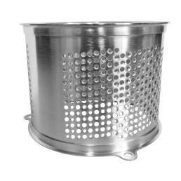 Kartoffelreibezylinder kronenverzahnt 2 mm Edelstahl / für M 50