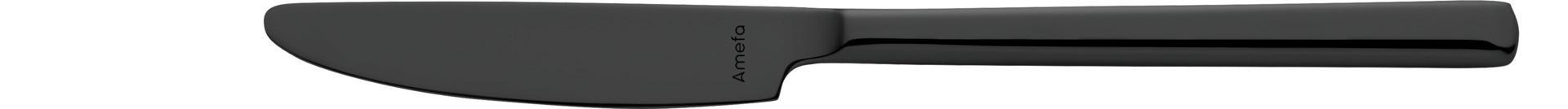 Metropole PVD, Dessertmesser Monoblock 205 mm PVD schwarz