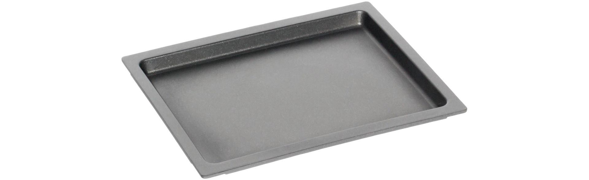GN-Bratplatte GN 2/3 BBQ-Grillboden 0,10 l / 370 x 330 x 20 mm