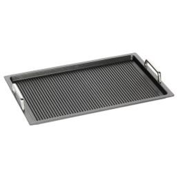 GN-Bratplatte GN 1/1 Grillboden mit Griffen 0,10 l / 530 x 330 x 20 mm
