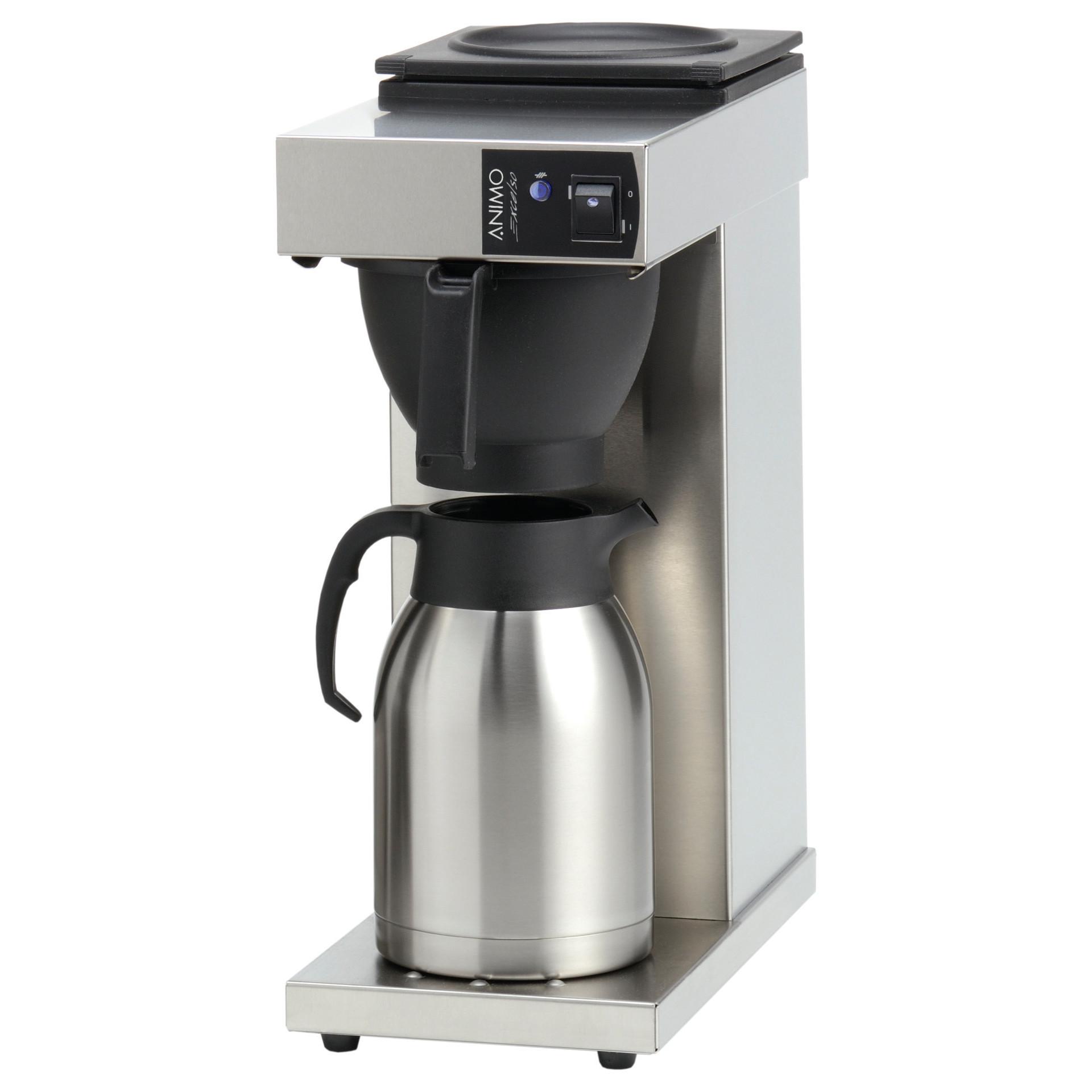 Filterkaffeemaschine 2,00 l mit 1 Thermoskanne /ohne Wasseranschluss