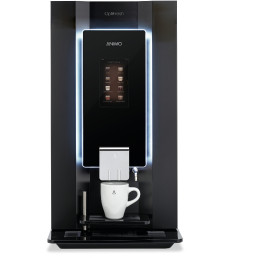 Kaffeevollautomat 1 x 5,10 l + 2 x 2,30 l / OptiFresh 3 Touch / schwarz