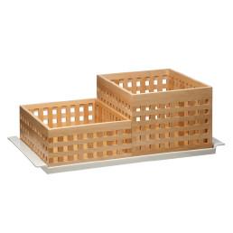 Box 340 x 260 x 125 mm Buchenholz