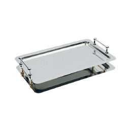 GN-System-Tablett GN 1/1 530 x 325 mm Rand hochglanzpoliert
