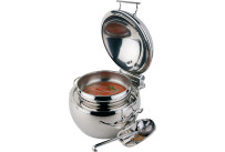 Suppen-Kugel rund 10,00 l / ø 480 mm hochglanzpoliert