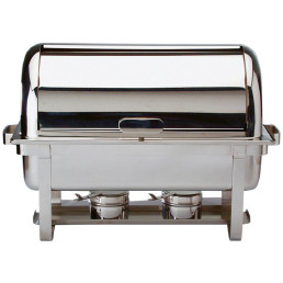 Rolltop Chafing Dish GN 1/1 9,00 l / 670 x 350 x 450 mm