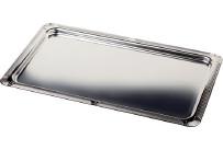 GN-Tablett GN 1/1 530 x 325 x 15 mm Dekorrand hochglanzpoliert
