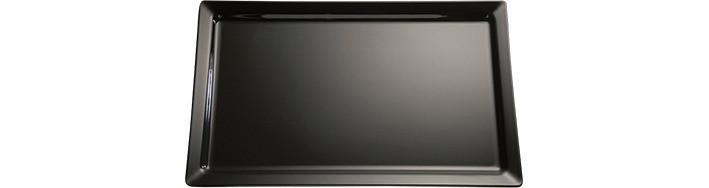 GN-Tablett GN 1/2 325 x 265 x 30 mm schwarz