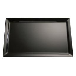 GN-Tablett GN 2/3 / 354 x 325 x 30 mm schwarz