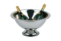 Champagnerkühler 12,00 l / ø 450 x 230 mm Hochglanz + matt