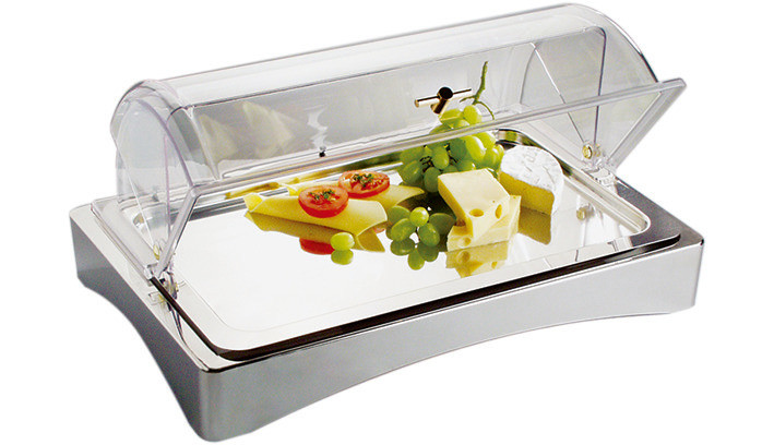 GN-Kühlbox GN 1/1 3-tlg. Kühlbox + Tablett GN 1/1 + 2 Kühlakkus