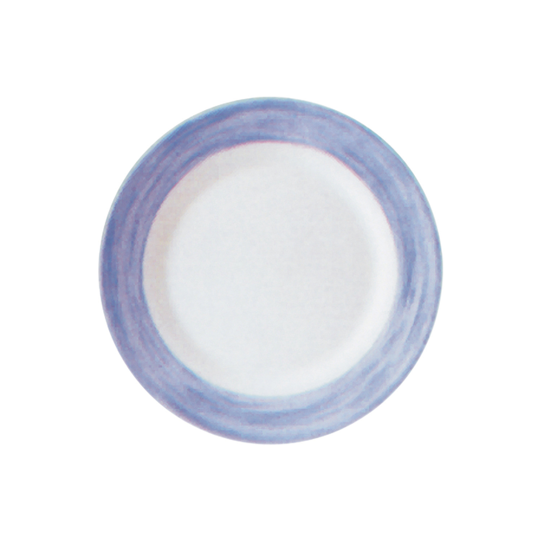Brush Blue, Restaurant Teller tief ø 225 mm blau