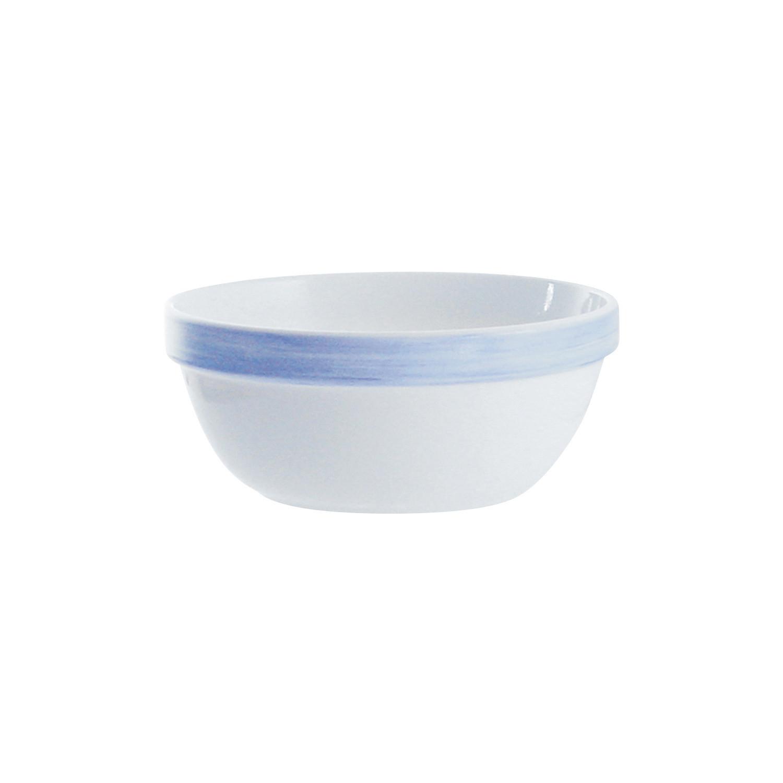 Brush Blue, Restaurant Stapelschale ø 170 mm / 0,90 l blau