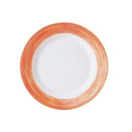 Brush Orange, Restaurant Teller flach ø 235 mm orange