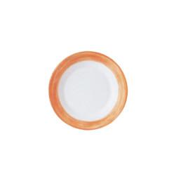 Brush Orange, Restaurant Teller flach ø 155 mm orange