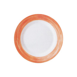 Brush Orange, Restaurant Teller tief ø 225 mm orange