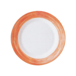 Brush Orange, Restaurant Teller flach ø 254 mm orange