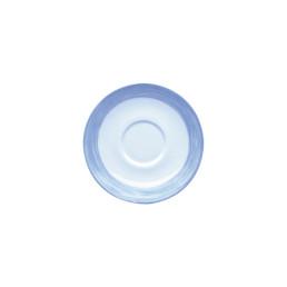 Brush Blue, Restaurant Untertasse ø 140 mm blau