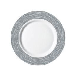Brush Grey, Restaurant Teller flach ø 254 mm grau