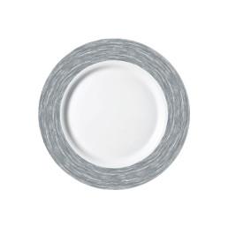 Brush Grey, Restaurant Teller flach ø 235 mm grau