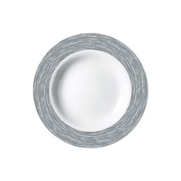 Brush Grey, Restaurant Teller tief ø 225 mm grau