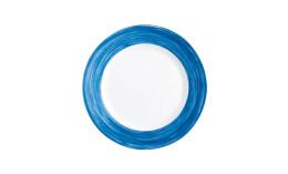 Brush Blue Jean, Restaurant Teller flach ø 250 mm blue jean
