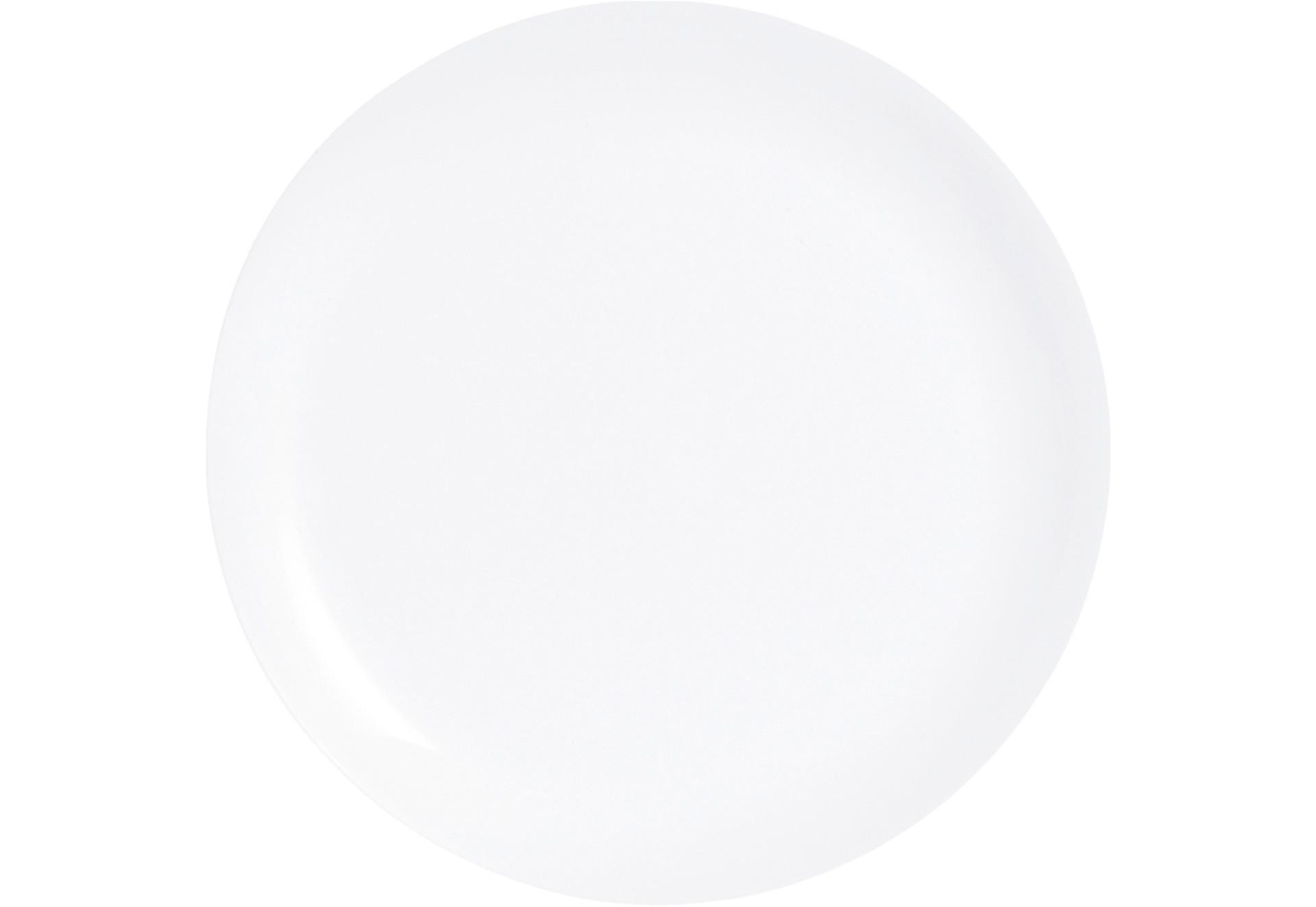 Evolutions Uni, Coupteller flach ø 250 mm weiß