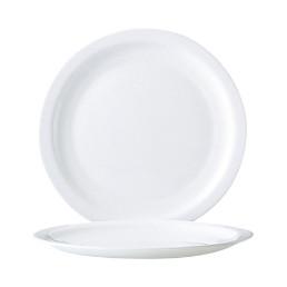 Hoteliere White, Teller flach ø 255 mm