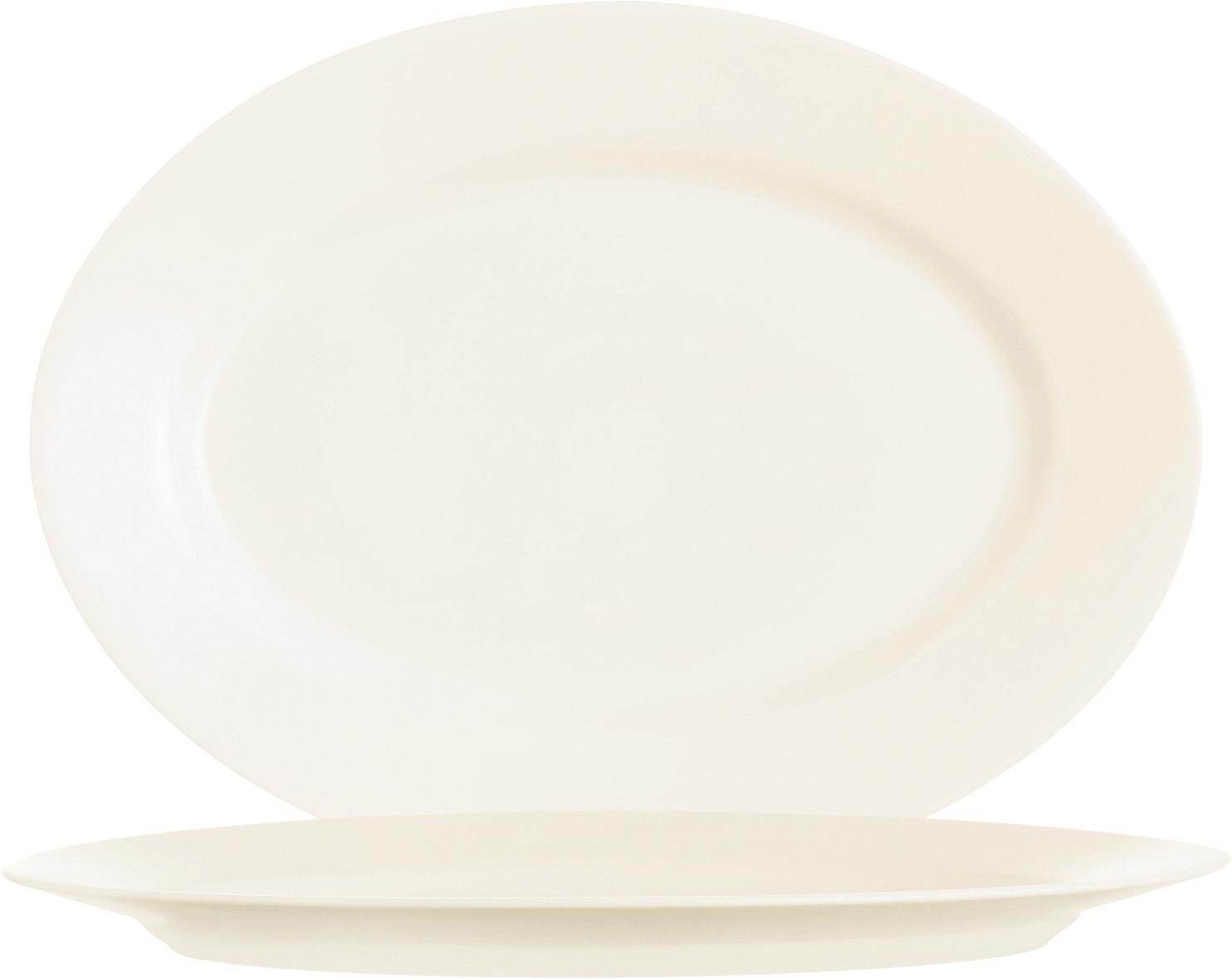 Intensity Cream, Platte oval 350 x 260 mm
