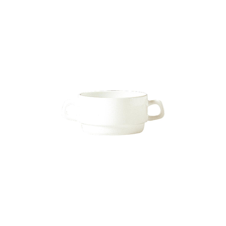 Intensity Cream, Suppentasse mit 2 Henkel stapelbar ø 105 mm / 0,31 l