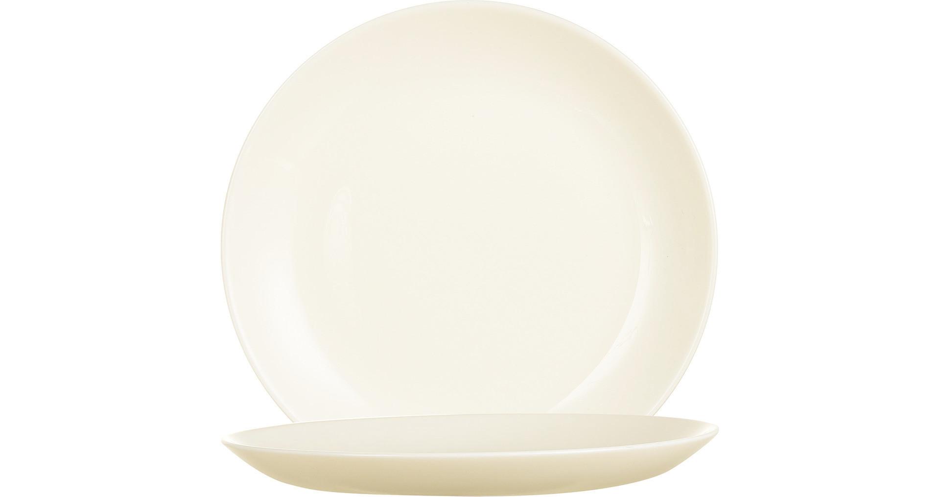 Intensity Cream, Coupteller flach ø 190 mm