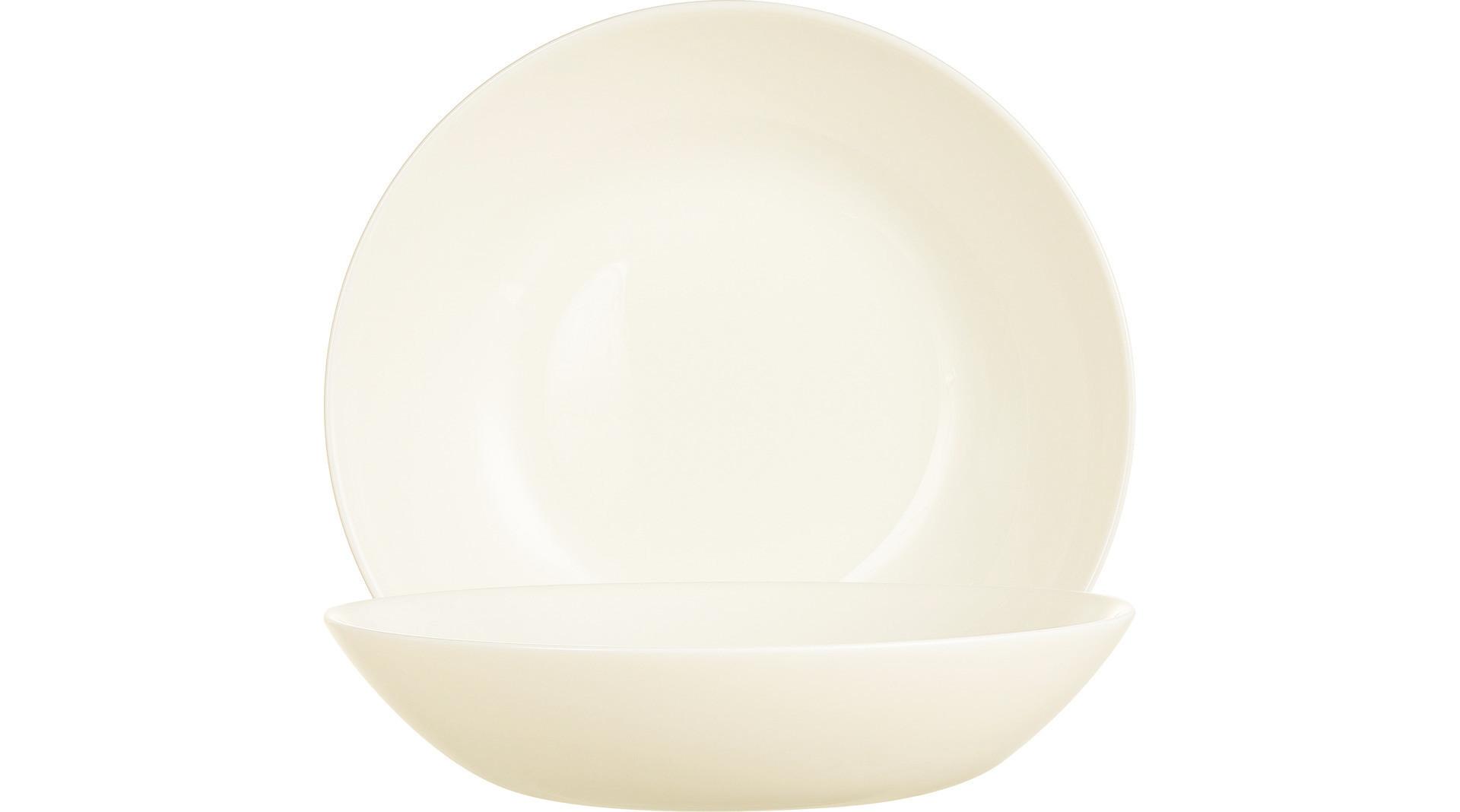Intensity Cream, Coupteller tief ø 200 mm / 0,75 l