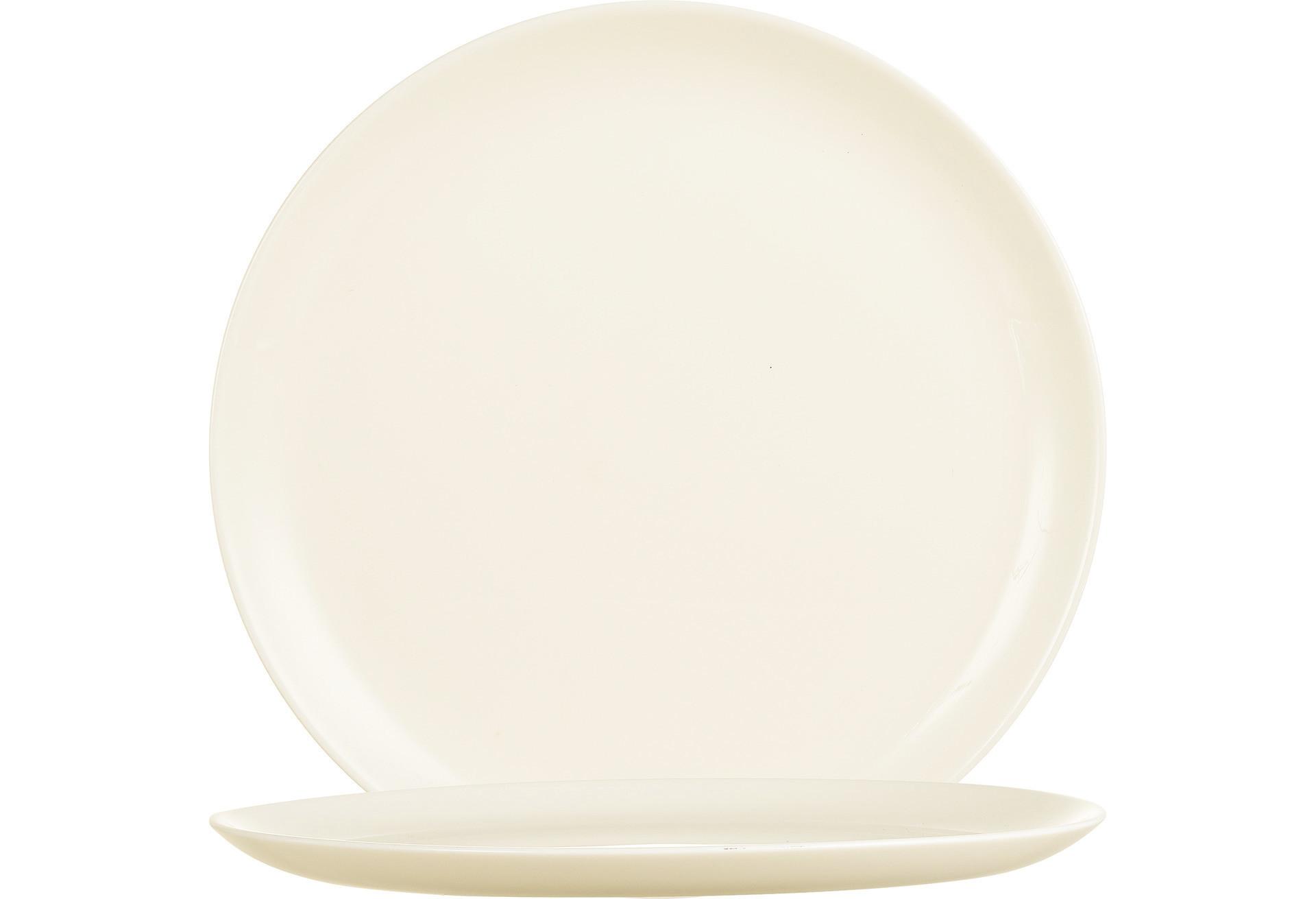 Intensity Cream, Coupteller flach ø 245 mm