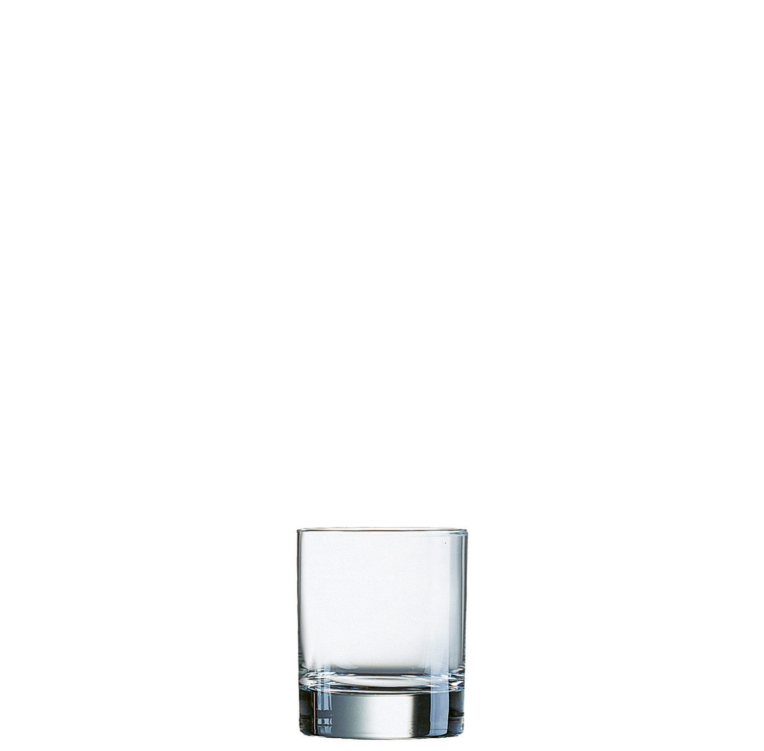 Islande, Whiskyglas ø 70 mm / 0,20 l