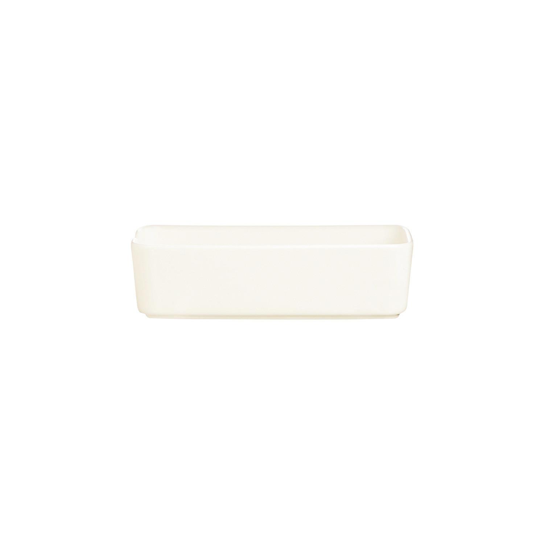 Mekkano, Schale rechteckig 149 x 73 mm / 0,28 l cremeweiß