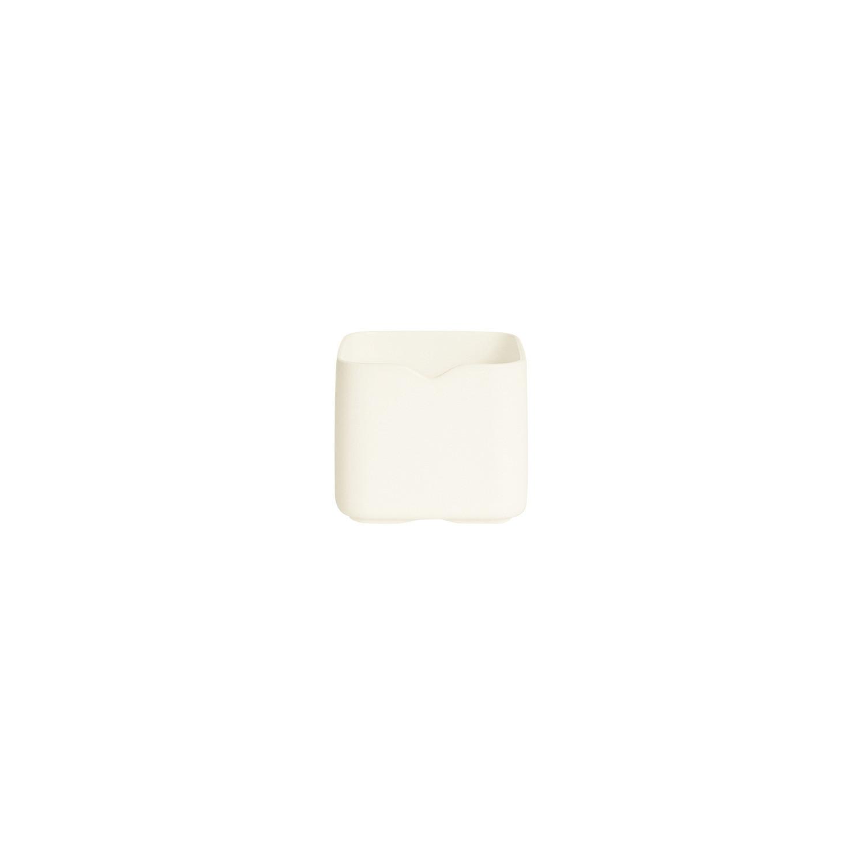 Mekkano, Quadratschale 75 x 75 mm / 0,21 l / cremeweiß