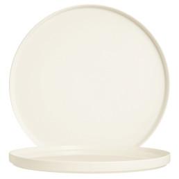 Mekkano, Teller flach ø 310 mm / cremeweiß
