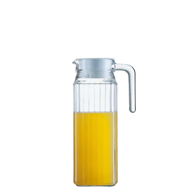 Quadro, Kühlschrankkrug mit Deckel ø 89 mm / 1,10 l
